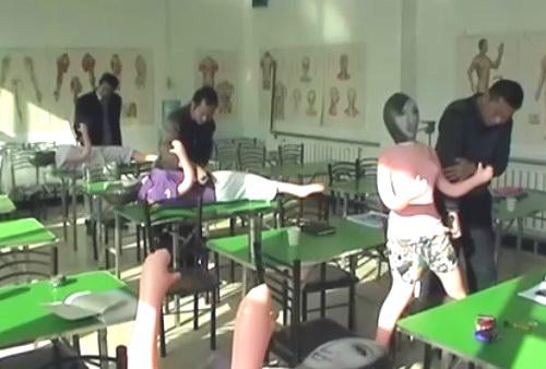 五绝指针第二期培训班学员指法练习视频